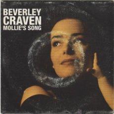 Discos de vinilo: BEVERLEY CRAVEN - MOLLIE'S SONG, EDITADO POR EPIC EN 1993. Lote 43187625
