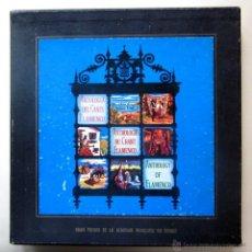 Discos de vinilo: ANTOLOGÍA DEL CANTE FLAMENCO HISPAVOX - CAJA CON 3 LPS (10 PULGADAS) + LIBRETO - 1955. Lote 43190937