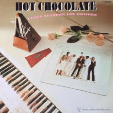 Discos de vinilo: HOT CHOCOLATE - GOING THROUGH THE MOTIONS . LP . 1979 RAK GERMANY - 1C 064-62 915 . Lote 43191455