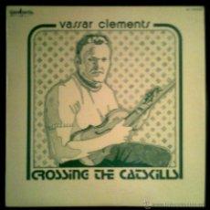 Discos de vinilo: VASSAR CLEMENTS - CROSSING THE CATSKILLS - SPAIN LP GUIMBARDA 1979 - BEATLES. Lote 43204630