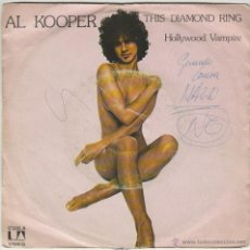 Discos de vinilo: AL KOOPER - THIS DIAMOND RING / HOLLYWOOD VAMPIRE, EDITADO POR UNITED ARTIST EN 1976. Lote 43206048