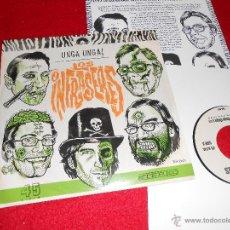 Discos de vinilo: LOS INFRASERES UNGAGA UNGA UNGA/SATAN RED/ROCK N'ROLL EN LA JUNGLA EP 2006 ROCK. Lote 43206372