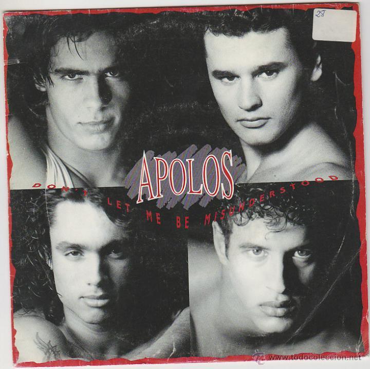 APOLOS, DON'T LET ME BE MISUNDERTOOD. SINGLE DEL SELLO EMI DEL AÑO 1.991, PROMOCIONAL (Música - Discos de Vinilo - Maxi Singles - Grupos Españoles de los 90 a la actualidad)