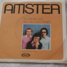 Discos de vinilo: AMSTER 7´SG EM TROBO SOL / RECORDS D´UN TEMPS (1972) CANTADO EN CATALAN-NUEVO A ESTRENAR-. Lote 43207150