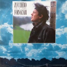 Discos de vinilo: ZUCCHERO SUGAR FORNACIARI - SENZA UNA DONNA . MAXI SINGLE . 1987 POLYDOR GERMANY - 887 125-1. Lote 43209467