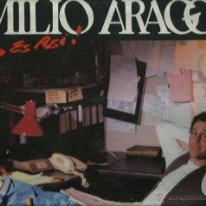 Discos de vinilo: EMILIO ARAGON LP SELLO CBS SONY AÑO 1992. Lote 43209886