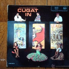 Discos de vinilo: XAVIER CUGAT AND HIS ORCHESTRA - CUGAT IN FRANCE, SPAIN AND ITALY. Lote 43210336