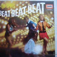 Discos de vinilo: THE SPOTS - BEAT BEAT BEAT - LP. Lote 43210909