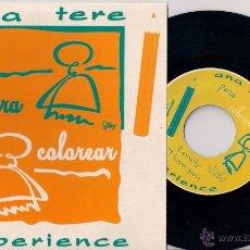 Discos de vinilo: ANA TERE EXPERIENCE - PARA COLOREAR - EP 1994 - GRABACIONES EN EL MAR.. Lote 43211463