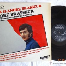 Discos de vinilo: THIS IS ANDRE BRASSEUR LP PALETTE ILS 9006 MADE IN ITALY 1968. Lote 43215463
