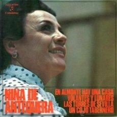 Discos de vinilo: NIÑA DE ANTEQUERA 1971 COLUMBIA SCGE 81.399 SEVILLANAS. Lote 43225773