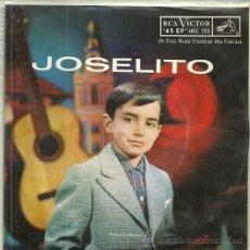 Discos de vinilo: JOSELITO EP SELLO RCA VICTOR EDITADO EN MEXICO. Lote 43228554