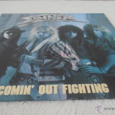 Discos de vinilo: SINNER - COMIN' OUT FIGHTING LP NOISE INTERNATIONAL - N 0049 GERMANY 1986. Lote 43230797