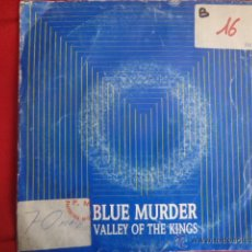 Discos de vinilo: BLUE MURDER VALLEY OF THE KINGS.. Lote 43235233