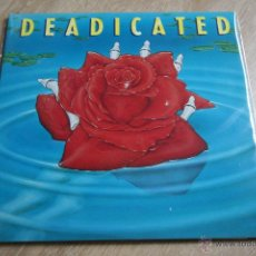 Discos de vinilo: DEADICATED, HOMENAGE A GRATEFUL DEAD (VARIADO),ARISTA,1991, MADE IN GERMANY, GATEGOLD DOBLE LP. Lote 43242163