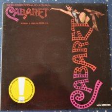 Discos de vinilo: CABARET - BANDA SONORA ORIGINAL - MCA RECORDS - 1984 WEA RECORDS. Lote 43242690