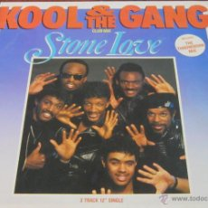 Discos de vinilo: KOOL & THE GANG - STONE LOVE CLUB MIX - MAXI - FUNKY - MERCURY 1986. Lote 43256481