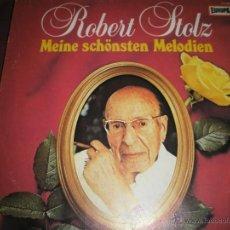 Discos de vinilo: LP-VINILO-GERMANY-ROBERT STOLZ-MEINE SCHÖNSTEN MELODIEN-EUROPA 111 136.1-SD-28 TEMASPERFECTO ESTADO.. Lote 43259540