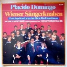 Discos de vinilo: PLÁCIDO DOMINGO - WIENER SÄNGERKNABEN - 1979 - (COMO NUEVO). Lote 43259816