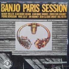 Discos de vinilo: LP - BANJO PARIS SESSION **DOBLE ALBUM**1979 GUIMBARDA** WENDY MILLER, JEAN MARIE REDON ENTRE OTROS*. Lote 43264492