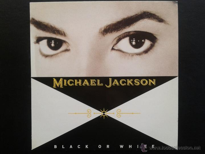 EP - MICHAEL JACKSON**BLACK OR WHITE**1991 EPIC EPC 657598-6**EDITADO EN ESPAÑA (Música - Discos de Vinilo - EPs - Funk, Soul y Black Music)
