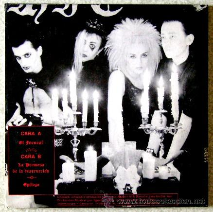 Discos de vinilo: GOTHIC SEX...EL FRENESI + 2........ARAGON....NM - Foto 2 - 46540900