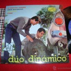 Discos de vinilo: DUO DINAMICO LO NUESTRO TERMINO 1963 EP. Lote 43266497