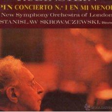 Discos de vinilo: LP. RUBINSTEIN. CHOPIN CONCIERTO Nº1. EDICION ESPAÑOLA DE 1970. . Lote 43270750