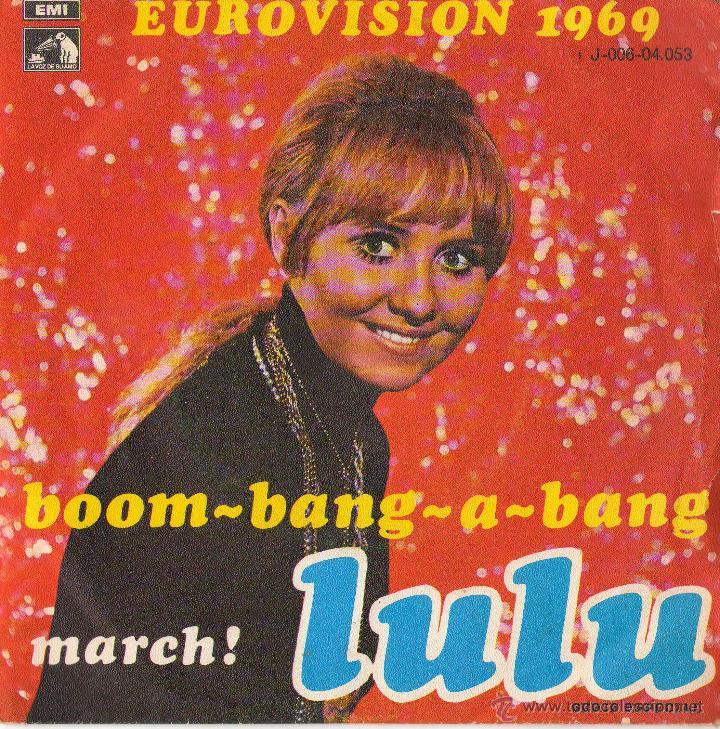 LULU - BOOM BANG A BANG - EUROVISIÓN 1969 (Música - Discos - Singles Vinilo - Festival de Eurovisión)
