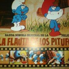Discos de vinilo: TER BSO. LA FLAUTA DE LOS PITUFOS. TERESA RABAL 1983 BELTER PERFECTO PRECINTADO. Lote 43273262