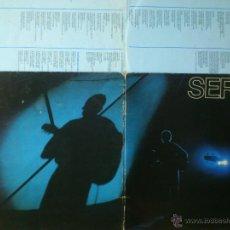 Discos de vinilo: TER SERRAT EN DIRECTO DOBLE LP 1984 ARIOLA PROPIO PERFECTO. Lote 43273433
