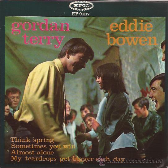 EP-GORDAN TERRY EDDIE BOWEN-EPIC 9017-SPAIN 1965-COUNTRY (Música - Discos de Vinilo - EPs - Country y Folk)