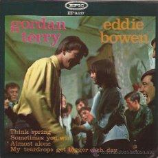 Discos de vinilo: EP-GORDAN TERRY EDDIE BOWEN-EPIC 9017-SPAIN 1965-COUNTRY. Lote 43274211