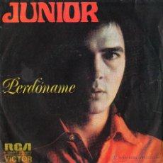Discos de vinilo: SINGLE JUNIOR PERDONAME RCA 1973. Lote 43274902