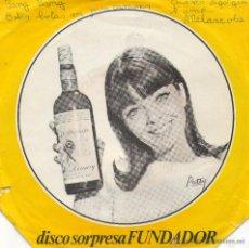 Discos de vinilo: EP DISCO SORPRESA FUNDADOR -BANG BANG-ESTAS BOTAS SON PARA CAMINAR-CUANDO DIGO QUE TE AMO-MELANCOLIA. Lote 43276602