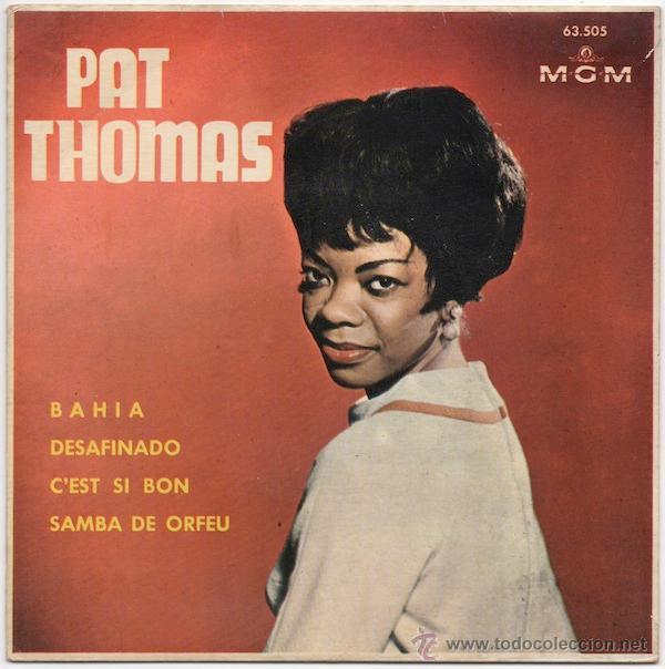 PAT THOMAS - BAHIA/DESAFINADO/C'EST SI BON/SAMBA DE ORFEU (Música - Discos de Vinilo - EPs - Funk, Soul y Black Music)