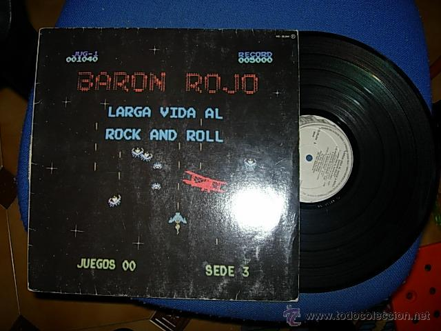 BARON ROJO LARGA VIDA AL ROCK AND ROLL LP (Música - Discos - LP Vinilo - Heavy - Metal)