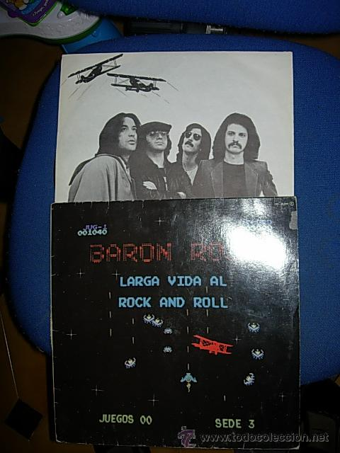 Discos de vinilo: BARON ROJO LARGA VIDA AL ROCK AND ROLL LP - Foto 2 - 43279843