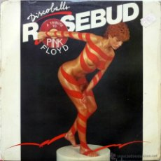 Discos de vinilo: ROSEBUD. DISCOBALL: A TRIBUTE TO PINK FLOYD. ATLANTIC-HISPAVOX, ESP. 1977 LP. Lote 43282054
