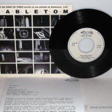 Discos de vinilo: TABLETOM - ALGO ASÍ COMO UN TANGO (PROMO).. Lote 43282431
