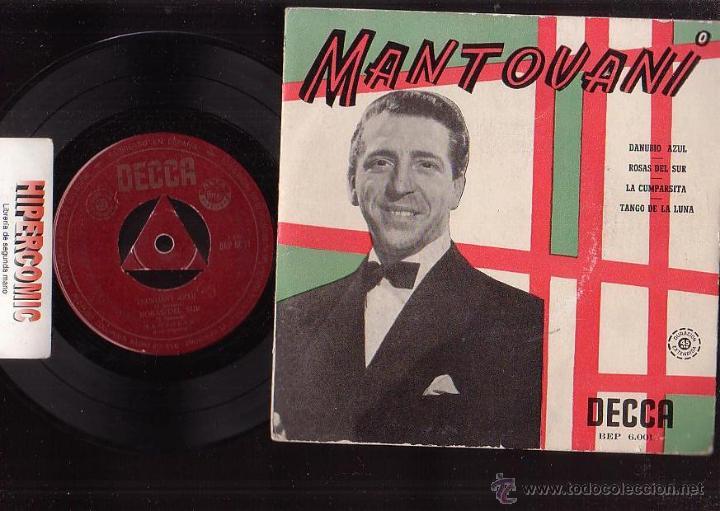 MANTOVANI - DECCA (Música - Discos - LP Vinilo - Orquestas)