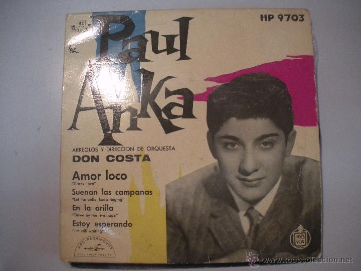MAGNIFICO SINGLE DE - PAUL - ANKA - (Música - Discos - Singles Vinilo - Grupos y Solistas de latinoamérica)