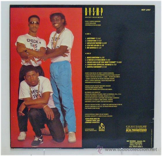Discos de vinilo: BVSMP - The Best Belong Together (LP Vinilo. Original 1988) - Pedido mínimo 8€ - Foto 2 - 43306639
