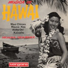 Discos de vinilo: MOANA - QUARTET, EP, MAUNA - KEA + 3, AÑO 1964. Lote 43307443