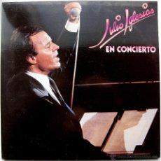 Discos de vinilo: JULIO IGLESIAS - EN CONCIERTO - LP DOBLE CBS 1983 BPY. Lote 43318570