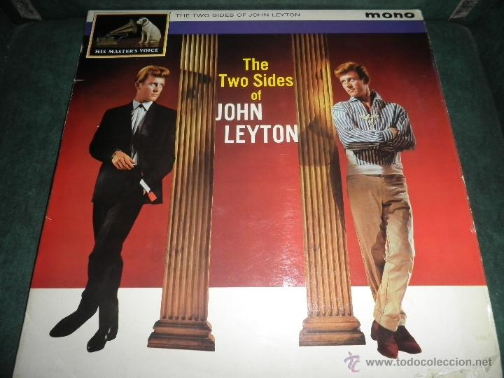 JOHN LEYTON - THE TWO SIDES OF LP - ORIGINAL INGLES - HIS MASTER VOICE RECORDS 1961 MONO - AUTENTICO (Música - Discos - LP Vinilo - Rock & Roll)
