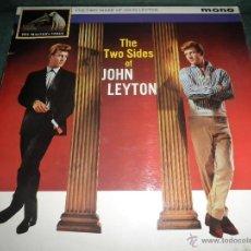 Discos de vinilo: JOHN LEYTON - THE TWO SIDES OF LP - ORIGINAL INGLES - HIS MASTER VOICE RECORDS 1961 MONO - AUTENTICO. Lote 43319982