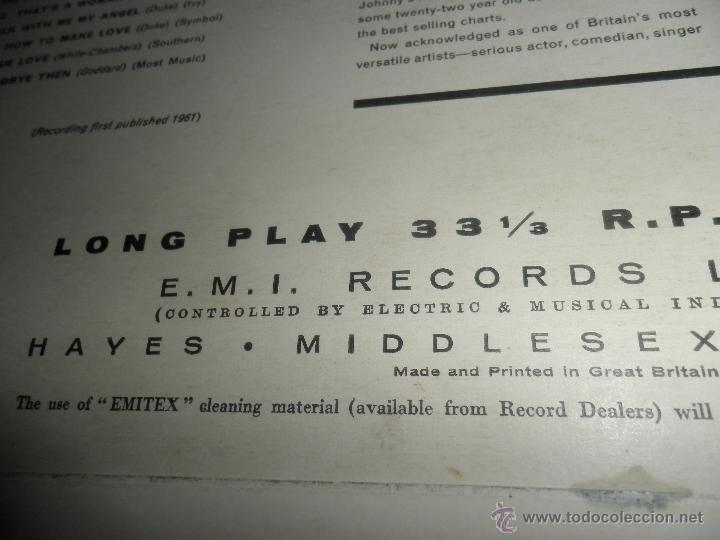 Discos de vinilo: JOHN LEYTON - THE TWO SIDES OF LP - ORIGINAL INGLES - HIS MASTER VOICE RECORDS 1961 MONO - AUTENTICO - Foto 9 - 43319982