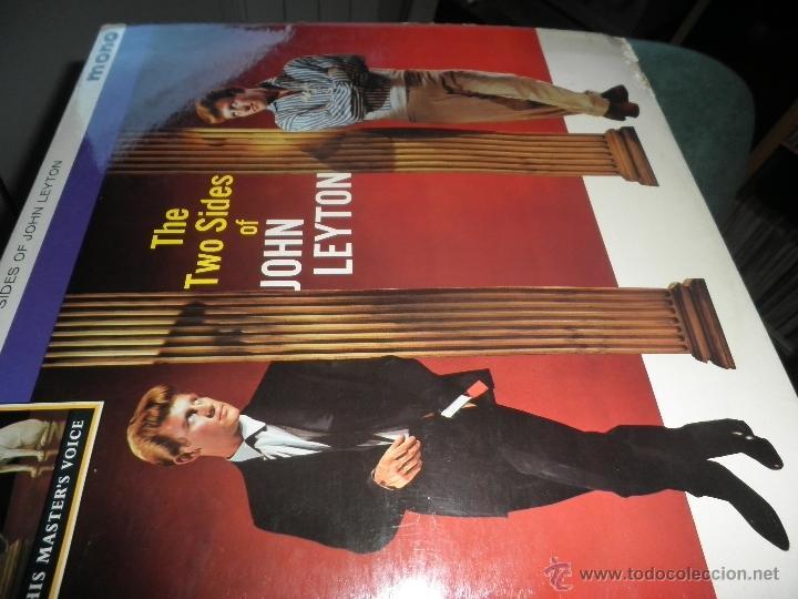Discos de vinilo: JOHN LEYTON - THE TWO SIDES OF LP - ORIGINAL INGLES - HIS MASTER VOICE RECORDS 1961 MONO - AUTENTICO - Foto 13 - 43319982