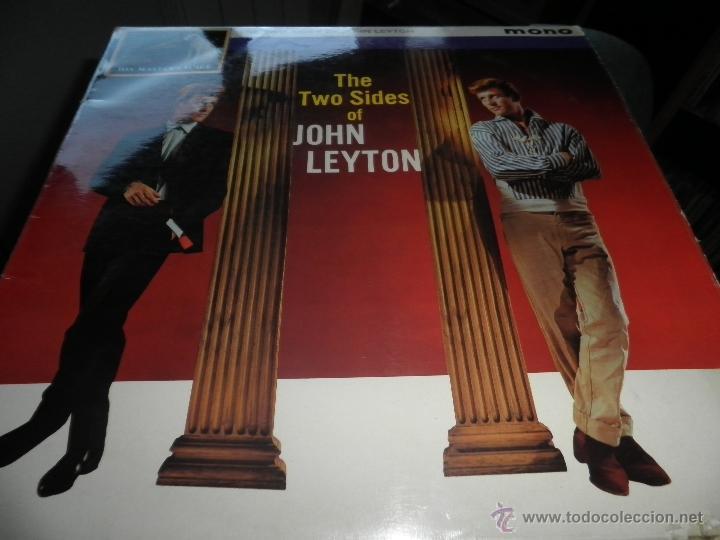 Discos de vinilo: JOHN LEYTON - THE TWO SIDES OF LP - ORIGINAL INGLES - HIS MASTER VOICE RECORDS 1961 MONO - AUTENTICO - Foto 15 - 43319982